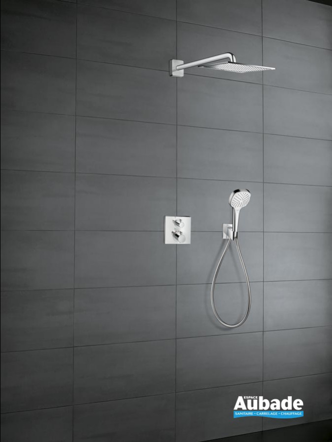 Ensemble de douche encastrée Crometta E 240 / Ecostat E de Hansgrohe