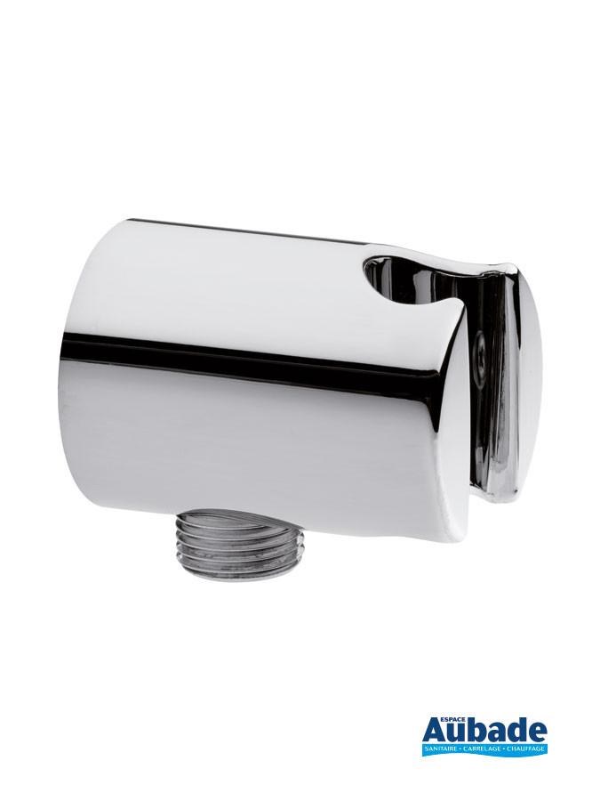Applique prise d'eau Individual Round avec support douchette pour pack encastré Clivia de Vigour