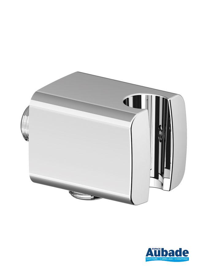 Applique prise d'eau Individual Square avec support douchette pour pack encastré Clivia de Vigour