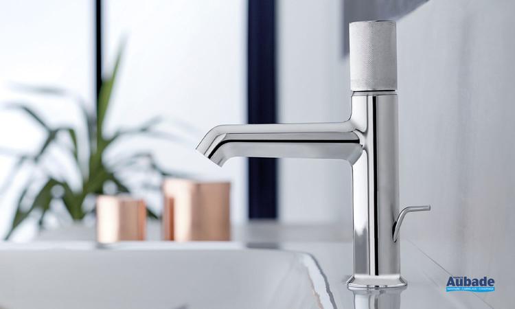 Mitigeur lavabo bas Rivoli finition chromée de la marque Jacob Delafon