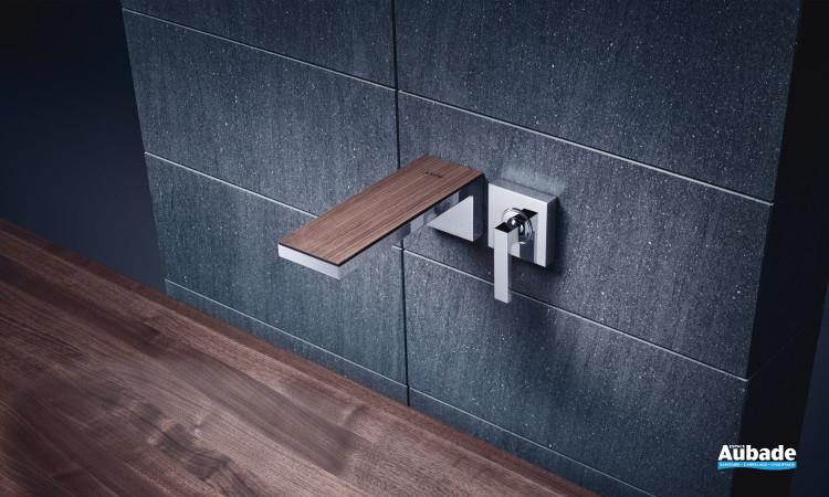 robinetterie lavabo axor myedition mural 220