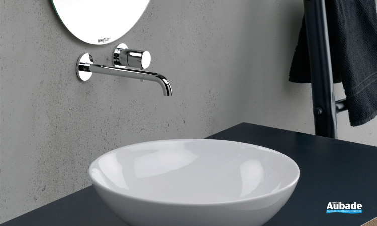 robinetterie lavabo cristina triverde mitigeur mural