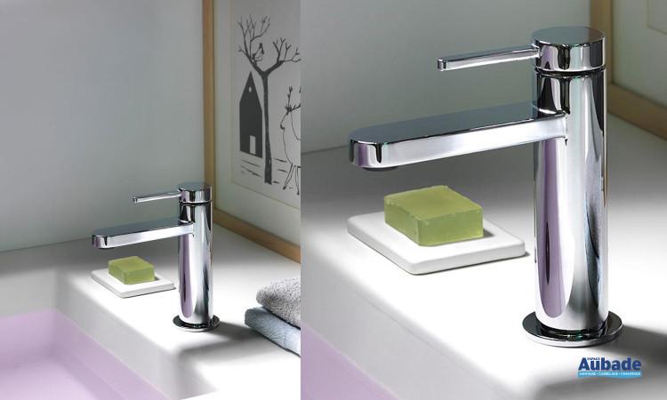 Mitigeur lavabo design et élégant avec mousseur Unic Cristina