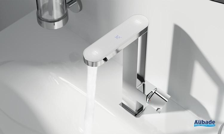 Mitigeur lavabo taille M avec affichage de température Plus Digital de Grohe