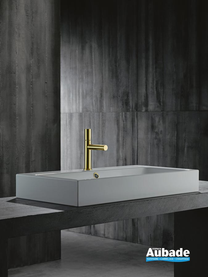 Mitigeur lavabo AXOR Uno 110 par Axor Laiton Poli