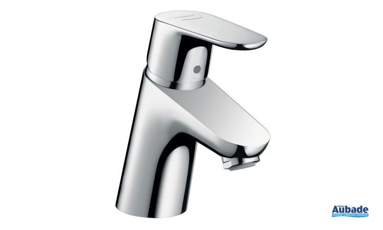 Mitigeur lavabo 70 Eco C3 Focus de Hansgrohe avec limiteur de température réglable
