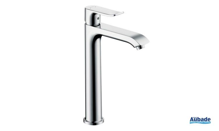 Mitigeur lavabo surélevé Metris de Hansgrohe