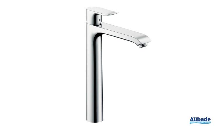 Mitigeur lavabo surélevé 260 pour vasque libre Metris de Hansgrohe