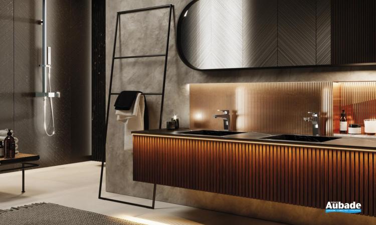 Mitigeur lavabo avec raccords flexibles Echo de la marque Horus