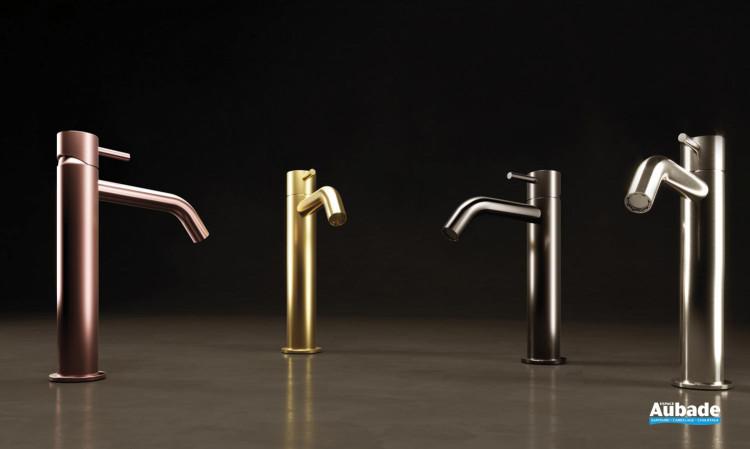 Mitigeur lavabo avec raccords flexibles Equinox 316 de la marque Horus