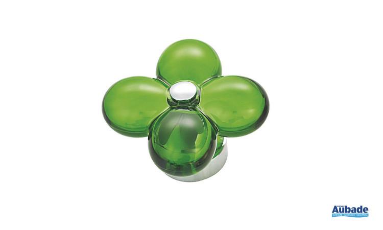 Mitigeur avec manette en forme de fleur Fleur de Horus coloris vert