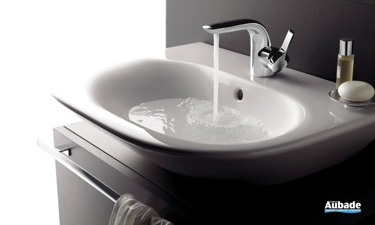 Mitigeur lavabo design avec finition chrome Mélange Ideal Standard