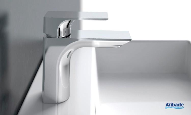 Mitigeur lavabo design finition chromé Strada de Ideal Standard