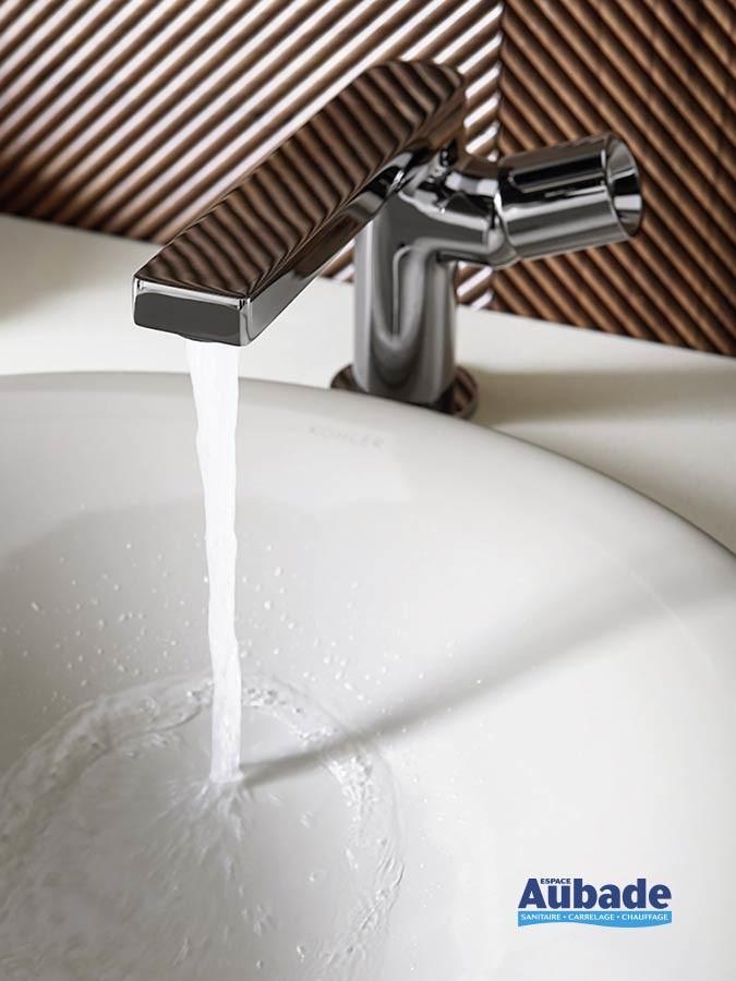 Mitigeur lavabo levier cylindrique « Pure » de Jacob delafon