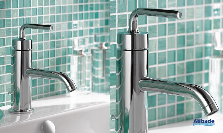 Mitigeur tendance Purist Jacob Delafon idéal pour votre salle de bain