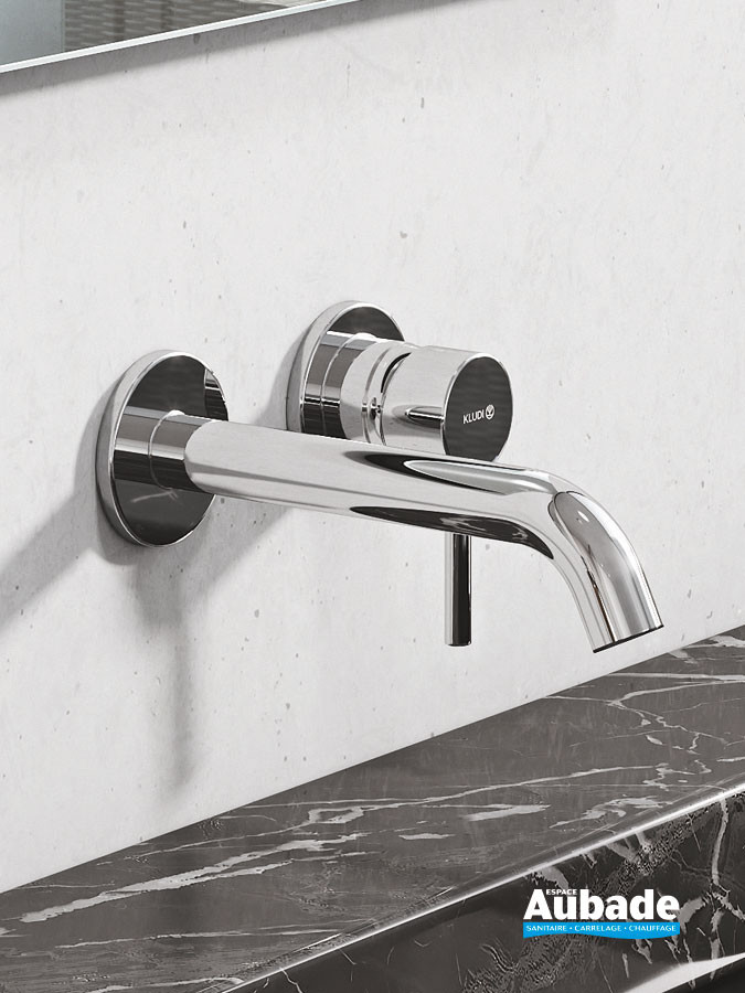Mitigeur lavabo encastré New Bozz finition chromé de Kludi