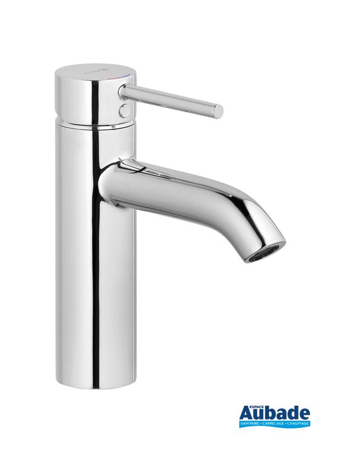 Mitigeur lavabo medium New Bozz coloris chromé avec vidage push open de Kludi
