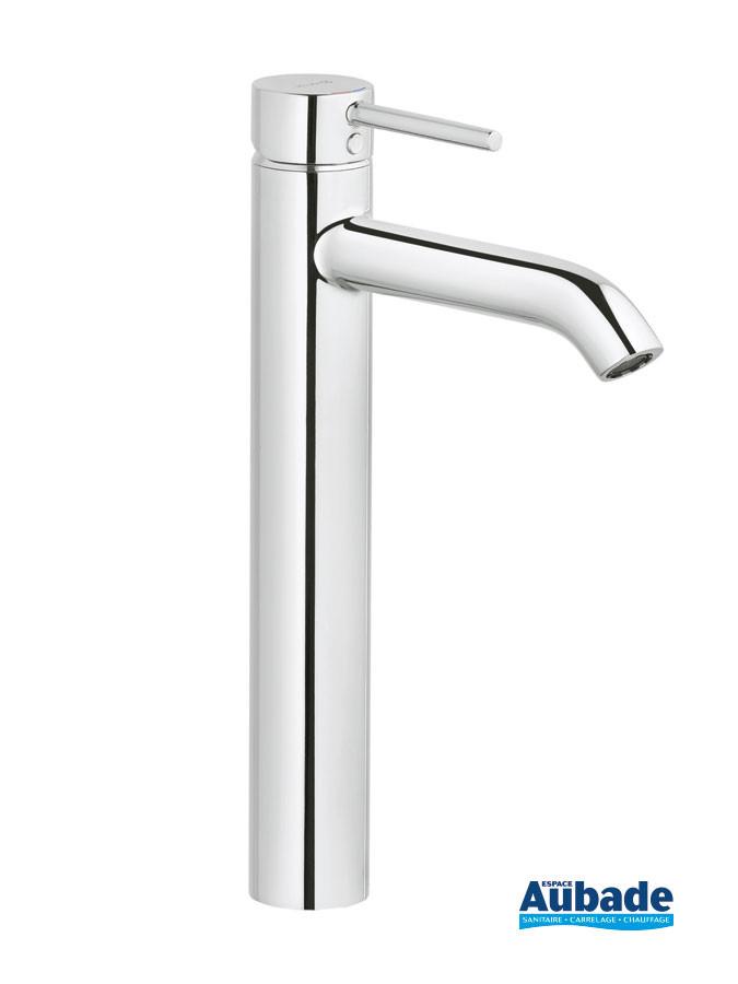 Mitigeur lavabo rehaussé New Bozz coloris chromé de Kludi