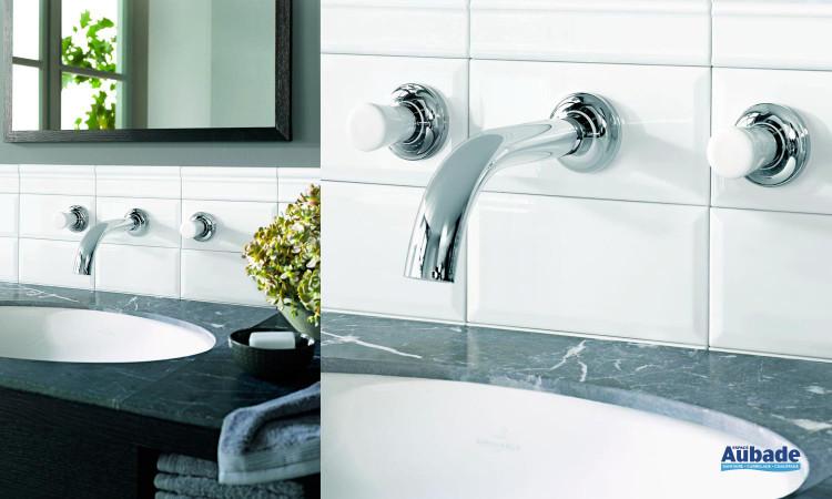 Robinet pour lavabos et vasques Villeroy & Boch LaFleur