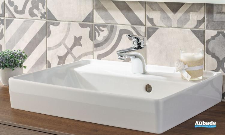 Mitigeur de lavabo bas Clivia finition chromé de la marque Vigour
