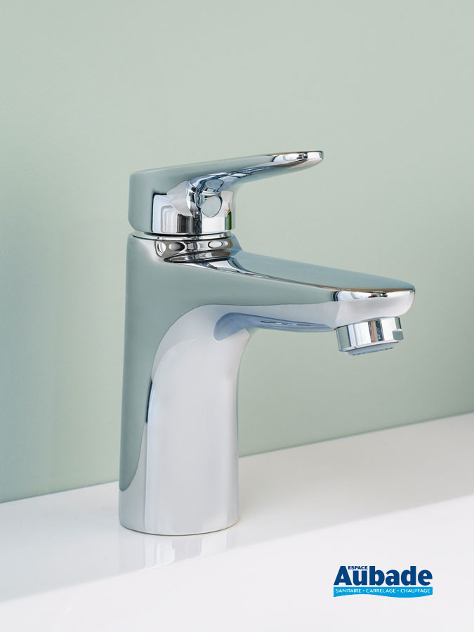 Mitigeur de lavabo medium Clivia finition chromé de la marque Vigour