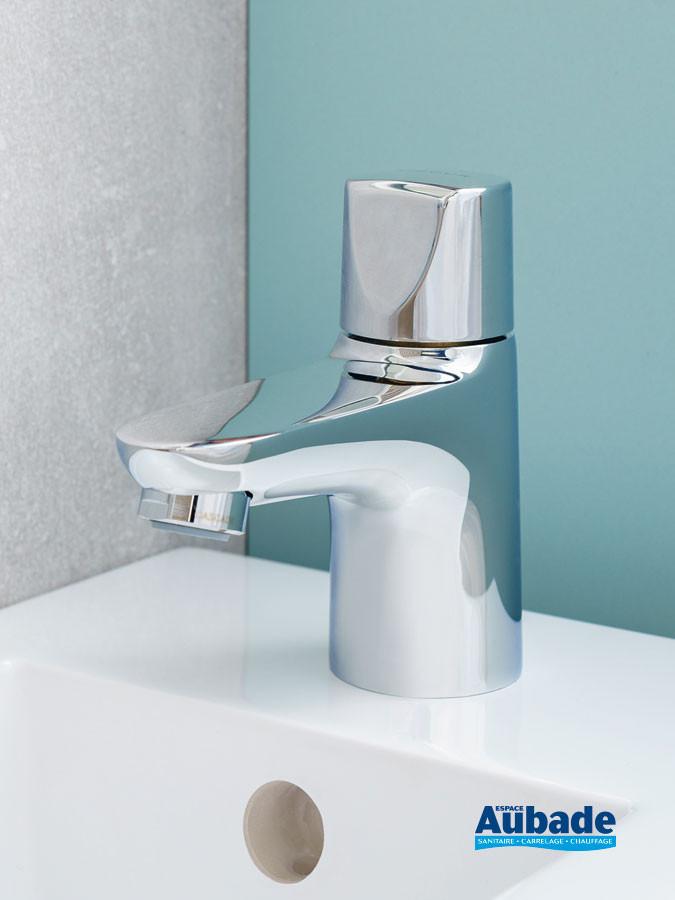 robinet de lavabo bas eau froide Clivia  finition Chromé de la marque Vigour