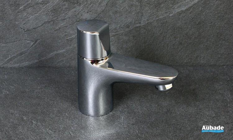 Robinet bas pour lave-mains eau froide Clivia finition chromé de la marque Vigour