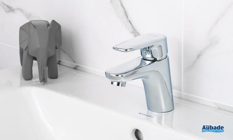 Mitigeur chromé de lavabo bas Derby Style par Vigour
