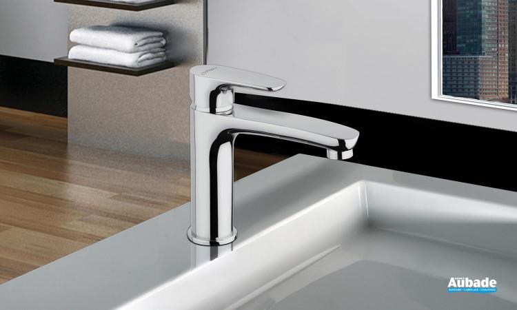 Mitigeur lavabo semi haut Parallèle 2 finition chromée de la marque Paini Italie