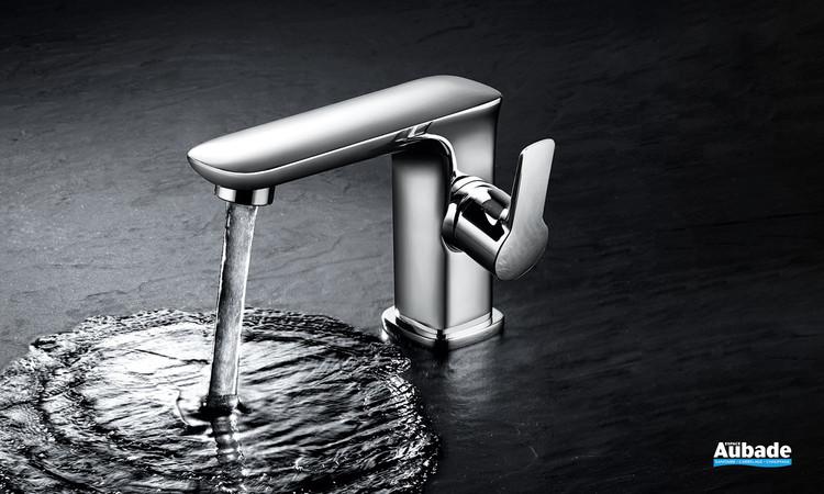 Mitigeur lavabo avec vidage Birdy finition chromée de Paini France