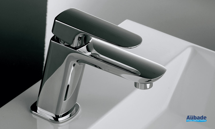 Mitigeur lavabo medium New-York chromé par Paini Italie