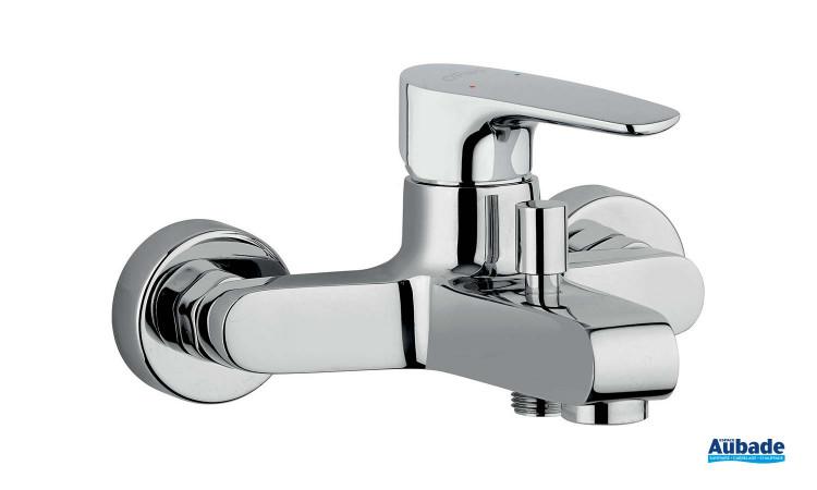 Mitigeur bain/douche mural mécanique Parallèle 2 chromé de la marque Paini Italie