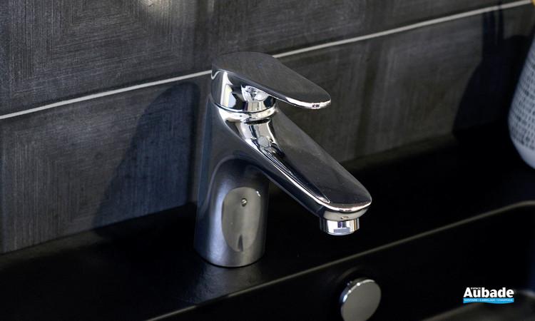 Mitigeur medium Clivia finition chromée pour lavabo et vasque par Vigour