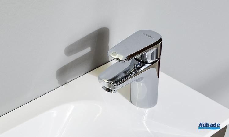 Robinet mitigeur Bas pour lavabo et vasque Derby Style coloris chromé par Vigour