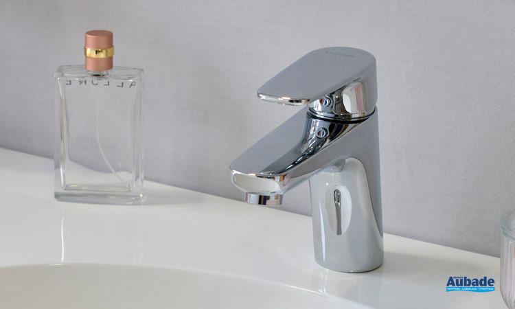 Robinet mitigeur lavabo medium Derby Style coloris chromé par Vigour