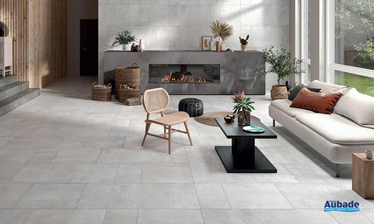 Collection Terre par Roca Carrelage en coloris Blanco