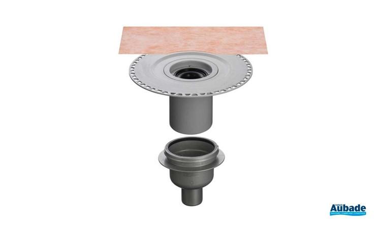 Systèmes d'évacuations de l'eau par le sol pour douches à l'italienne Schlüter®-KERDI-DRAIN 10