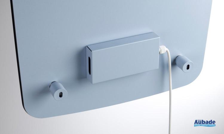 Radiateur sèche-serviettes Nuage de Acova avec 2 ouvertures