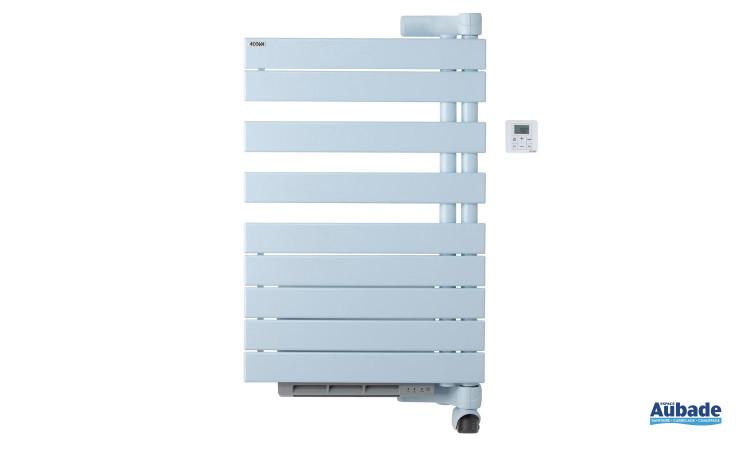 Radiateur sèche-serviettes Regate +Air de Acova, pratique avec fonction chauffant pour plus d'économies coloris blanc