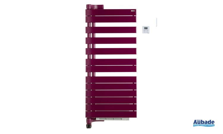 Radiateur sèche-serviettes Regate +Air de Acova, pratique avec fonction chauffant pour plus d'économies coloris bordeaux