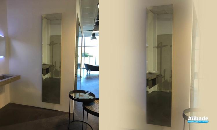 Sèche-serviettes contemporain en miroir Bizo Bain de Cinier 1