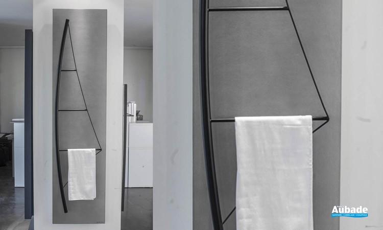 Sèche-serviettes eau chaude Voile Épure de Cinier 01