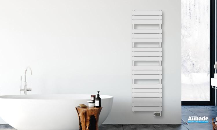 Radiateur sèche-serviettes Alma version électrique par Irsap