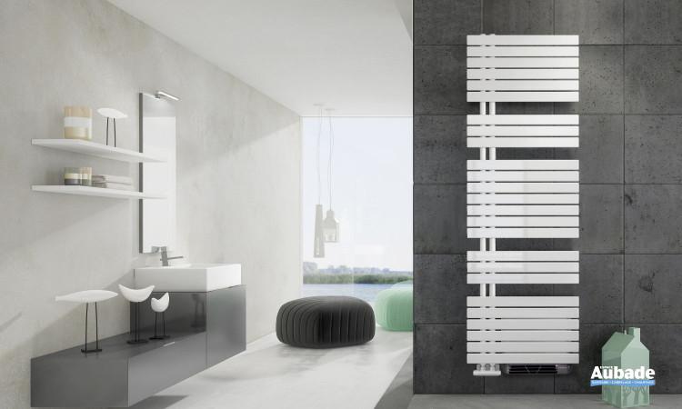 Radiateur sèche-serviettes Drap eau chaude avec soufflerie de Irsap