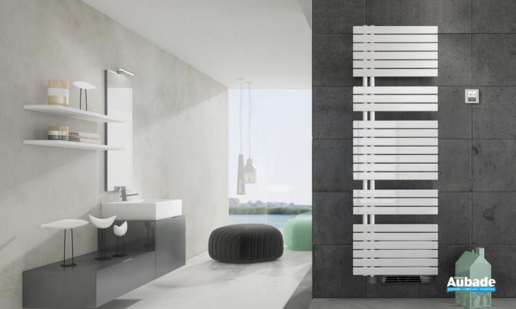 Radiateur sèche-serviettes Drap électrique avec soufflerie de Irsap