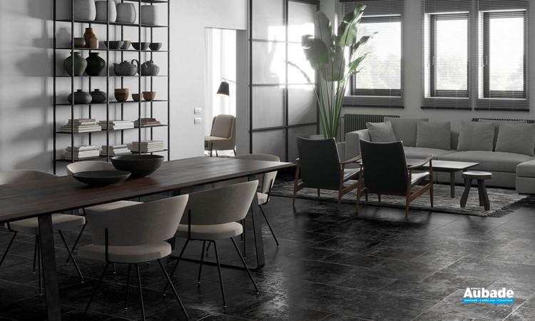 Collection Ciment par Settecento en coloris Nero