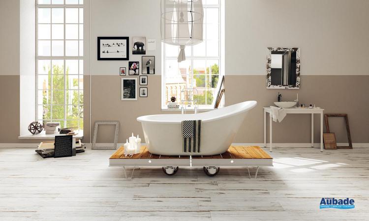 Collection Plank par Settecento en coloris Bistrot Bianco
