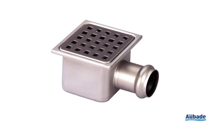 Siphon de sol Inox 304 de Gebo avec forme carré