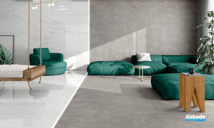 Collection Cosmopolita par Tau Ceramica en coloris Gray