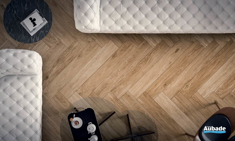 Collection Ragusa par Tau Ceramica en coloris Umber